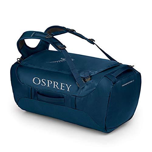 Osprey Unisex-Adult Transporter 65 Backpack, Deep Water Blue, O/S