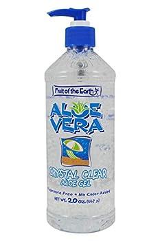 clear aloe vera gel