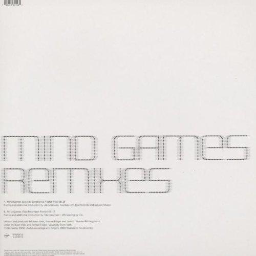 Mind Games (Johnselway&Tobi Ne [Vinyl Single] - 2