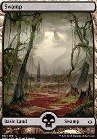 Swamp (Full Art) - Hour of Devastation