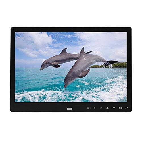 HD-Bilderrahmen, digital, 30,5 cm, 1280 x 800, Touchscreen, Smart-Bilderrahmen, Multimedia, Musik, Video-Player, Bildhalter, Schwarz