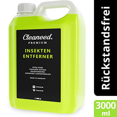 Cleaneed Premium Insektenentferner 3L zum Nachfüllen – Made in Germany – Extra stark, Rückstandsfrei, Garantiert Lackverträglich, Einfacher Auftrag