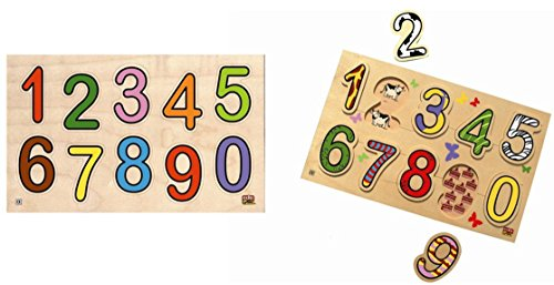 Edufun ef12055/12075 puzzels cijfers en hoeveelheden