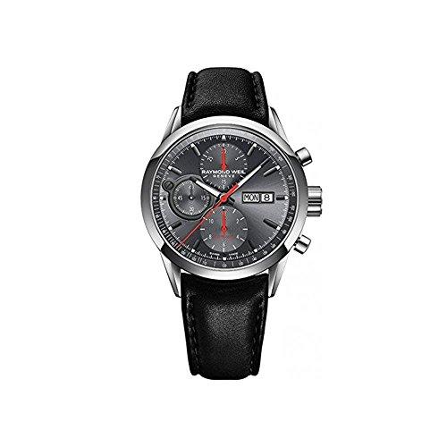 Raymond Weil Reloj Cronógrafo para Hombre de Automático con Correa en Cuero 7730-STC-60112