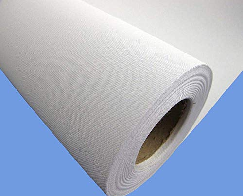Canvas Roll-Polyester Matte Waterproof for Any Aqueous Inkjet and Eco Solvent and Latex UV Printer (36