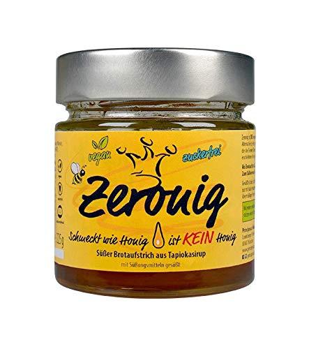 Zeronig, schmeckt wie Honig ist KEIN Honig