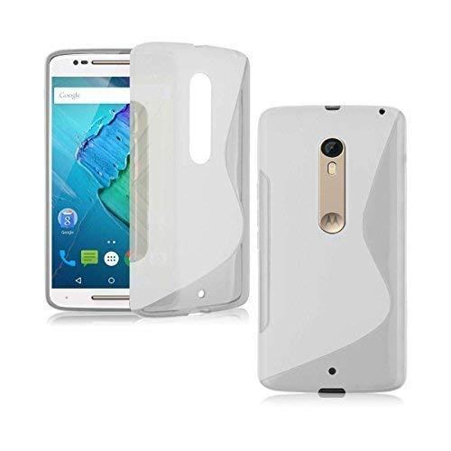 Motorola Moto X Style S-Line Silikon Gel In Transparent Cover Case von Gadget Boxx