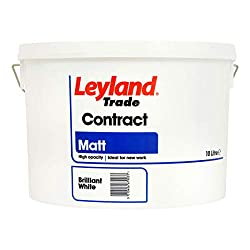 Leyland Matt White Emulsion Paint