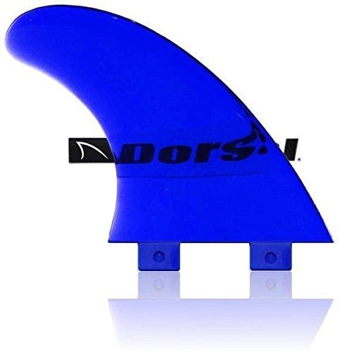 DORSAL Performance Flexrez Core Surfboard Twin Surf Fins (2) FCS Compatible Blue - Default Title