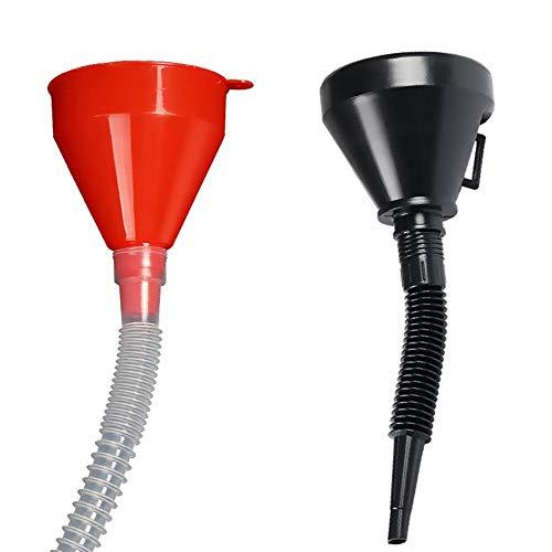 Piner Plastic Slangtrechter Huishoudelijke Keuken Oliefilter Trechter Auto Motorfiets DIY Tanken Trechter Benzine Diversion-benodigdheden