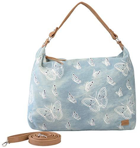 Bernardo BOSSI Jeans Tasche Shopper Hobo Bag Schultertasche Umhängetasche Denim Verschiedene Modelle STEFANO (Hobo Bag)