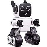 Roboter Spielzeug für Kinder,Intelligent Ferngesteuerter Roboter mit LED Licht Touch and Soundsteuerung, Spricht, Spielt Musik, Eingebaute Spardose, RC Roboter-Kit für Jungen, Mädchen