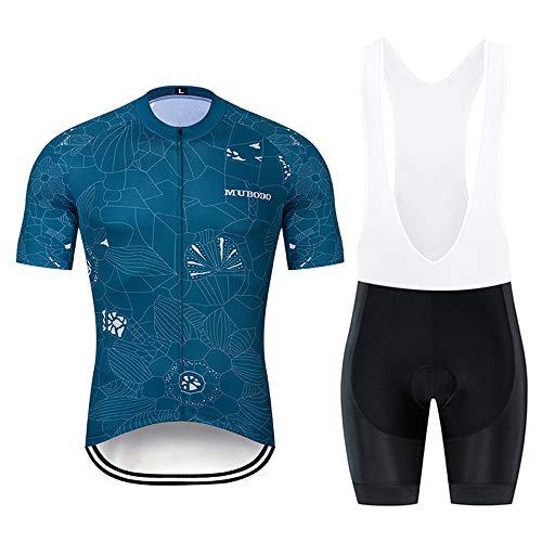 YDJGY Herren Radtrikot Fahrradbekleidung Sommer Kurzarmtrikot Pro Team Mtb Rennrad Shirt