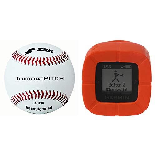 SSK(エスエスケイ) テクニカルピッチ TP001 硬式野球 9軸センサー内蔵ボール 投球データ解析 Bluetooth4.1対応 TP001 SSKTECHNICALPITCH & GARMIN(ガーミン)× 野球 バットスイングセンサー SWING
