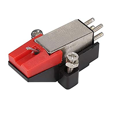 Vinyl Record Player Stylus, Phonograph Stylus Needle, Moving Magnetic Pickup for Vinyl Record Player Phonograph