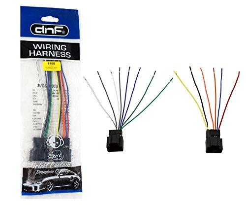 DNF Aftermarket Wiring Harness for Select Hyundai Santa Fe Vehicles 2007-2008 (70-7302) - 100% Copper Wires!