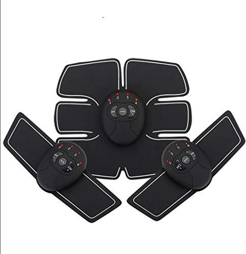 EMS Muskelstimulator Intelligente Abdominal Instrument Batterie Version Massagegerät Bauch Aufkleber Haushalt Faul Gewichtsverlust Übung Dünne Taille Aufkleber Elektrostimulation Männer und Frauen