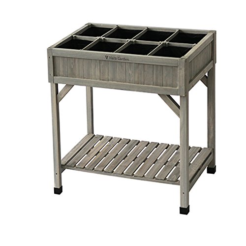 Vegtrug RHP6007GW USA Herb Planter Grey Wash
