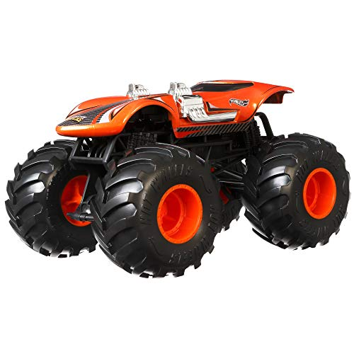 Hot Wheels Monster Trucks 1:24 Scale Twin Mill Multi Model:GJG70