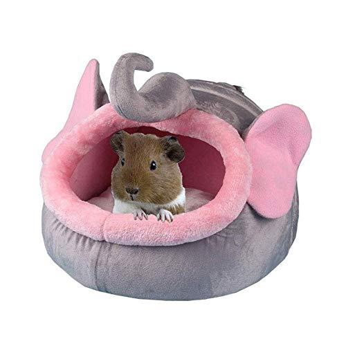Kaninchenbett, Winterwarme Haustierhängematte, Schwein Kaninchen Igelbett Zuckersegelflugzeug Eichhörnchen Hamster Hängende Höhle für kleinen Haustierkäfig, S.