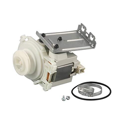 Bomba Bomba de circulación Motor 80 W Lavavajillas 480140102395 Bauknecht Whirlpool
