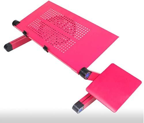 XUANFEI Silla de Oficina Plegable portátil de Mesa de Altura Ajustable Mesa de Ordenador de aleación de Aluminio Plegables Lapdesk con Las piernas for la Cama Principal for la Cama del sofá del Piso