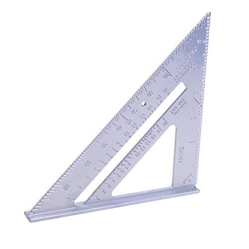 Multi-Usage aluminium legering Plein Protractor Mitre Framing Tri-plein Line Scriber Saw gids Triangle Ruler meetinstrument