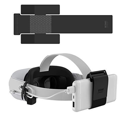 KIWI design VR Power Bank Correa de Fijación para Oculus Quest/Quest