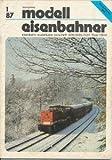 Modelleisenbahner 1/1987 DDR-Zeitschrift