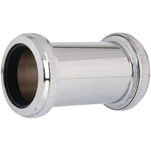 Douille de raccordement grise droite à serrage - Ø 32 mm - Valentin