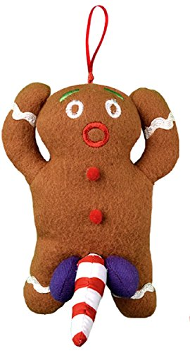 Dirty Talking Gingerbread Man Christmas Tree Ornament