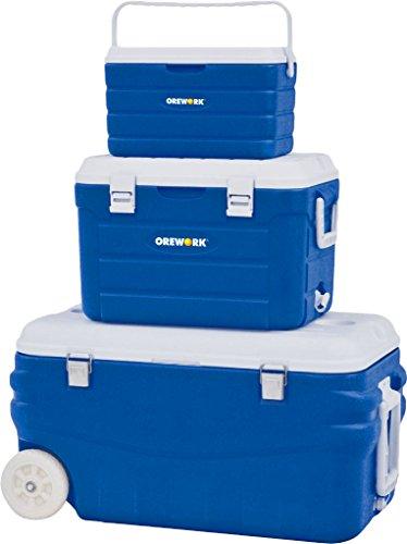 Orework 356780 Set de neveras portátiles, Adultos Unisex, Azul, 78x40x43 cm