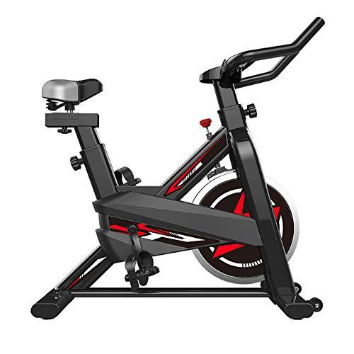 Zakjj Peloton Bike,Exercise Bikes con App Heart Rate Asiento Ajustable Y Manillar para Entrenamiento Aptitud,Gimnasio En Casa