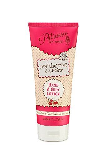 Patisserie de Bain Cranberries & Cream Body Lotion 200ml - Lot de 2