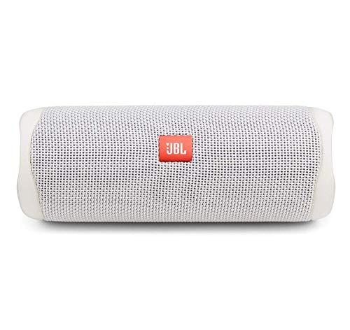 JBL FLIP 5, Waterproof Portable Bluetooth Speaker, White (New Model)