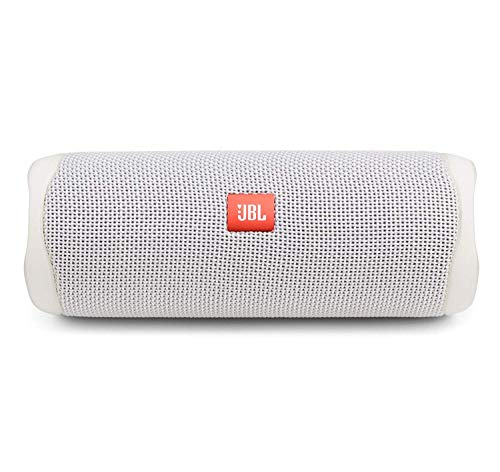 JBL FLIP 5, Waterproof Portable Bluetooth Speaker, White (New Model)