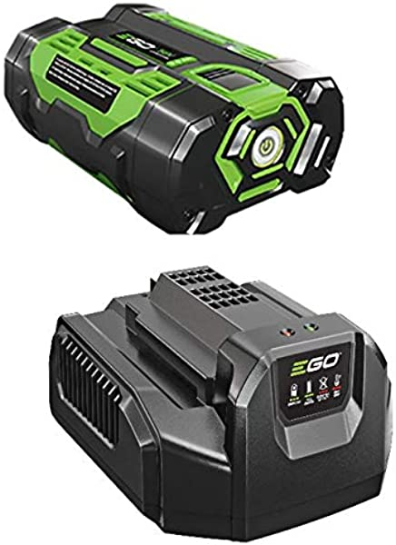 EGO Power Battery And Charger Kit BA1400 56V 2 5Ah Lithium Ion Battery Set