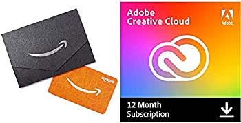 Adobe Creative Cloud 12-Month Subscription with auto-renewal + $10 GC