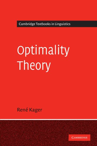 Optimality Theory (Cambridge Textbooks in Linguistics)