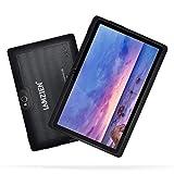 LAMZIEN Tableta 7 Pulgadas,1GB RAM y 16GB,Android OS,Quad-Core 1.5Ghz,Wifi,GPS,Bluetooth,Cámara Dual,Google Play, para Niños y Adultos,Negro
