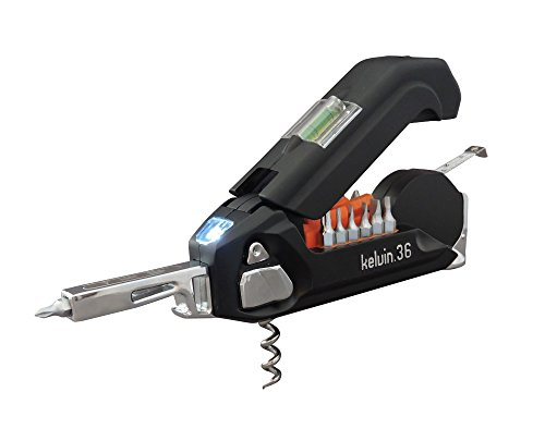 Kelvin Tools RV Edition, The Ultra Multi Tool for RV's, Trailers, Campers, Boats, Quads, and Jet Skis (Black)