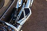 Kuryakyn 5772 Motorcycle Foot Control Component: Phantom Mini Board Floorboards without Adaptors, Chrome, 1 Pair