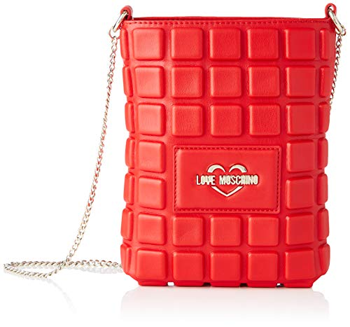 Love Moschino Ss21 Sac à bandoulière pour femme Collection Primavera Été 2021 Normal - - rouge, Normal EU