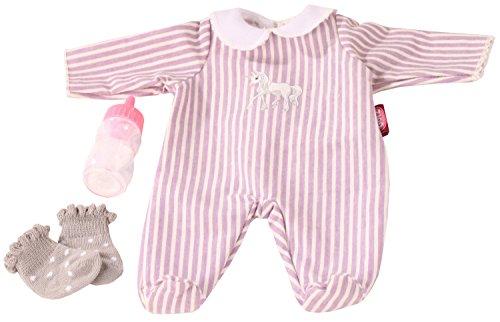 Götz 3402991 Kombination Baby-Einhorn - Puppenbekleidung-Set Gr. S - 4-teiliges Bekleidungs- und Zubehörset für Babypuppen von 30 - 33 cm