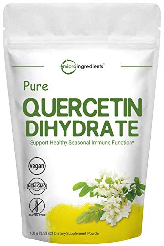 Maximum Strength Pure Quercetin Dihydrate Powder by Microingredients review