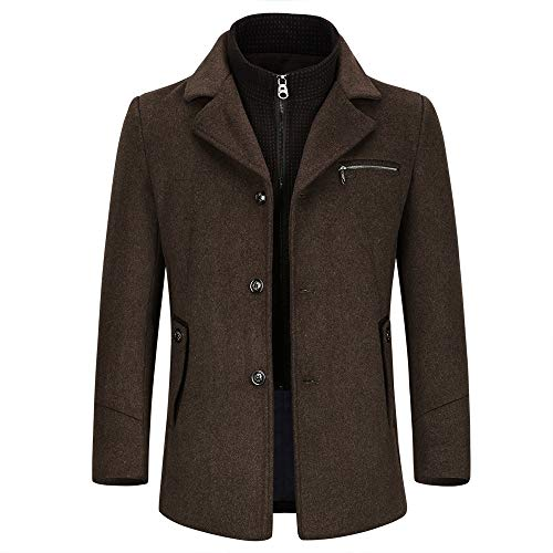 Herenjas, wol, winter, warm, trenchcoat, elegant, parka jas, slim fit casual coat