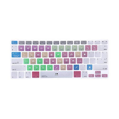 PrettyR Ableton Live 9 Suite Shortcuts Hotkey Silicone Keyboard Skin Protective Film Keypad Cover for Mac Pro Retina Air 13' 15' 17'-