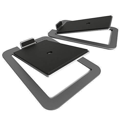 Kanto S4 soporte de altavoz Mesa Acero inoxidable - Soporte para altavoces...
