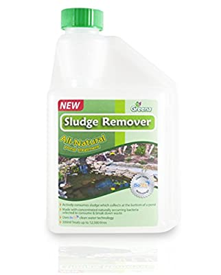 Greena® All Natural Sludge Remover - Actively consumes sludge which collects at the bottom of a pond (1)