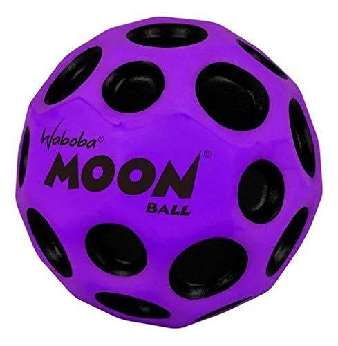 Waboba Moon Ball Extreme Bounce Crazy Spin Stylish Lightweight Design Purple